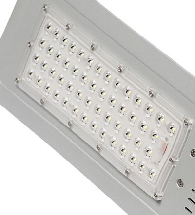 Модуль светодиодный LED 60 Вт, 54 светодиода, оптика 140х70°