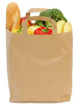 Купити Паперові пакети для продуктів харчування, для хліба, фаст-фуду, кава й інші оптом із Дніпропетровська