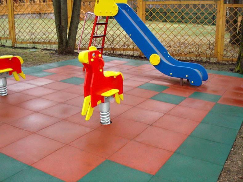Купить Покрытие для уличных детских площадок