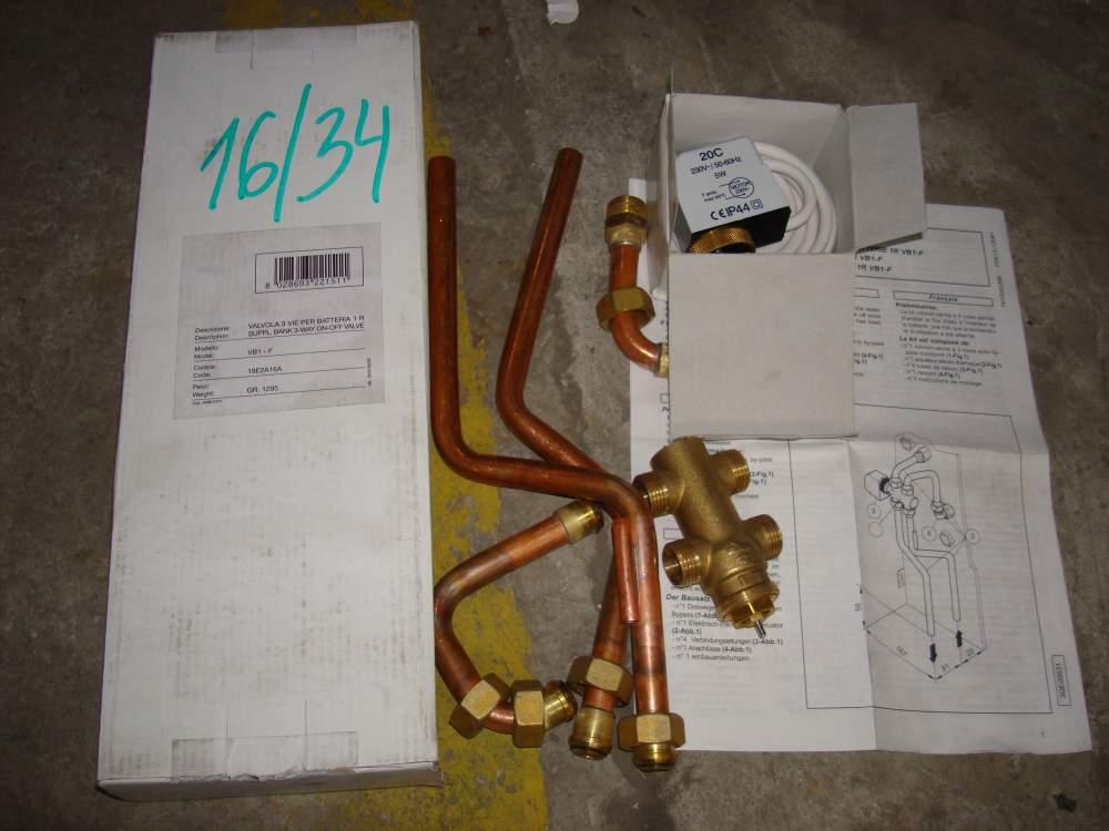 Комплект инсталяции для подключения отопления Watts