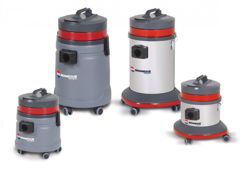 Профессиональные пылесосы для сухой и влажной уборки  Biemmedue SP&SM (25-45 л)