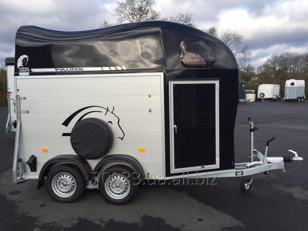 Купить Коневоз прицеп (перевозка лошадей) из Германии по вашим требованиям (покупка, доставка, растаможка)
