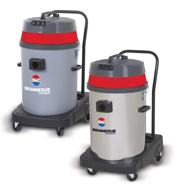 Профессиональный пылесос для сухой и влажной уборки  Biemmedue SP&SM 80 F с 2-3 турбинами (80л)