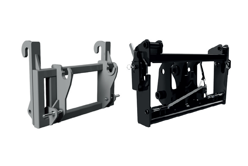 """JCB-MANITOU adapter (carriage) of TM """"A.TOM"""