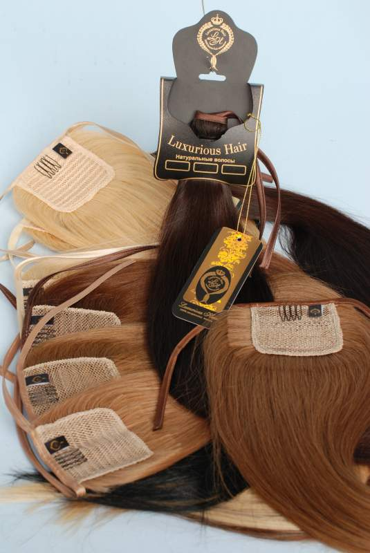 """Buy Chignon tail """"sleeve"""" from natural hair"""