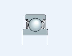 Подшипник с широким внутренним кольцом