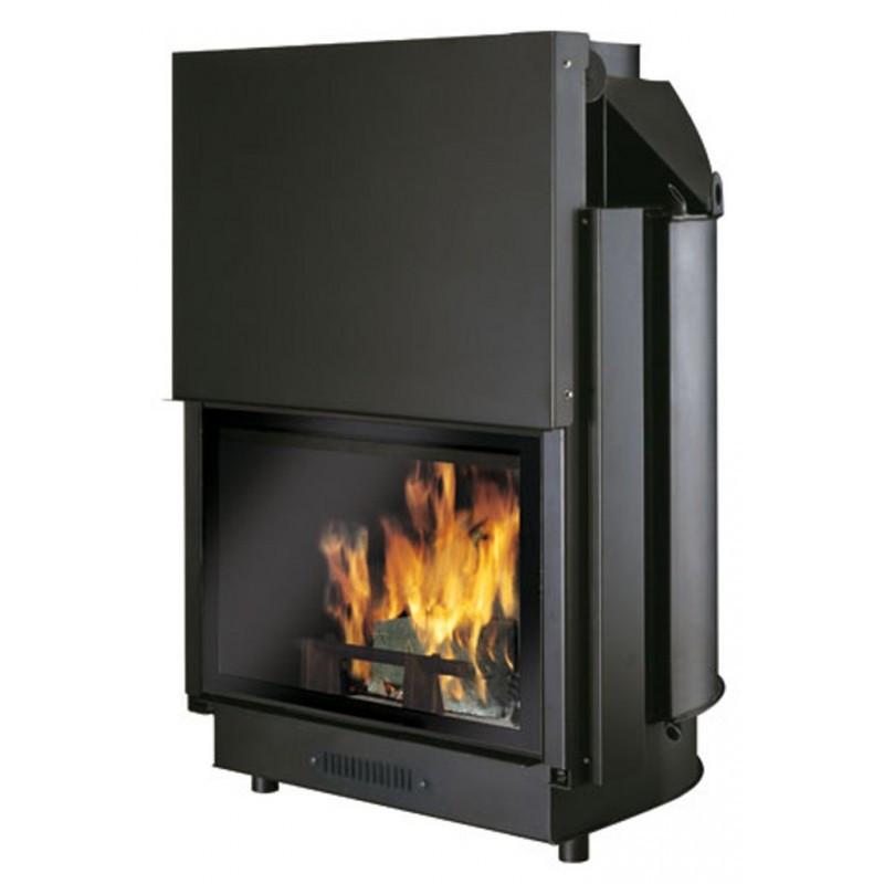 Buy Wood burning fireplace with water jacket Edilkamin Acquatondo 22 Plus