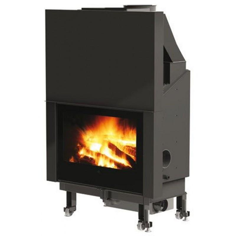 Buy Wood burning fireplace with water jacket Edilkamin Aquamaxi 28