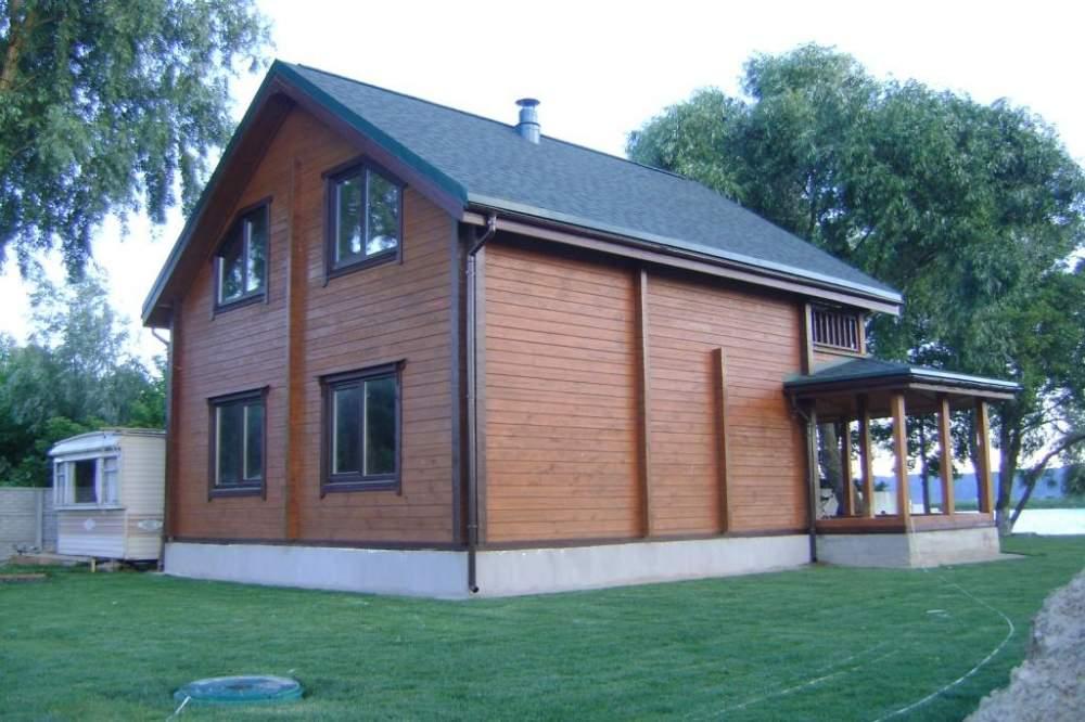 Купить Дом на два этажа из дерева