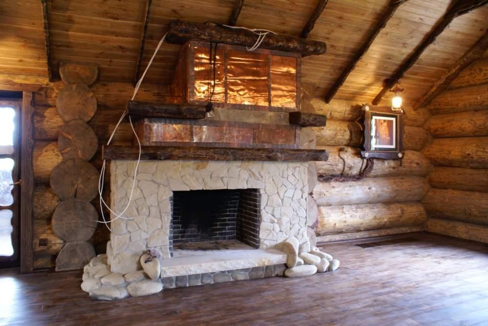 Купить Элитный камин в деревянном доме
