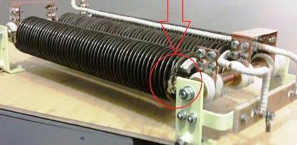 Купить Запчасти к Блоку резисторов БРС-1АС