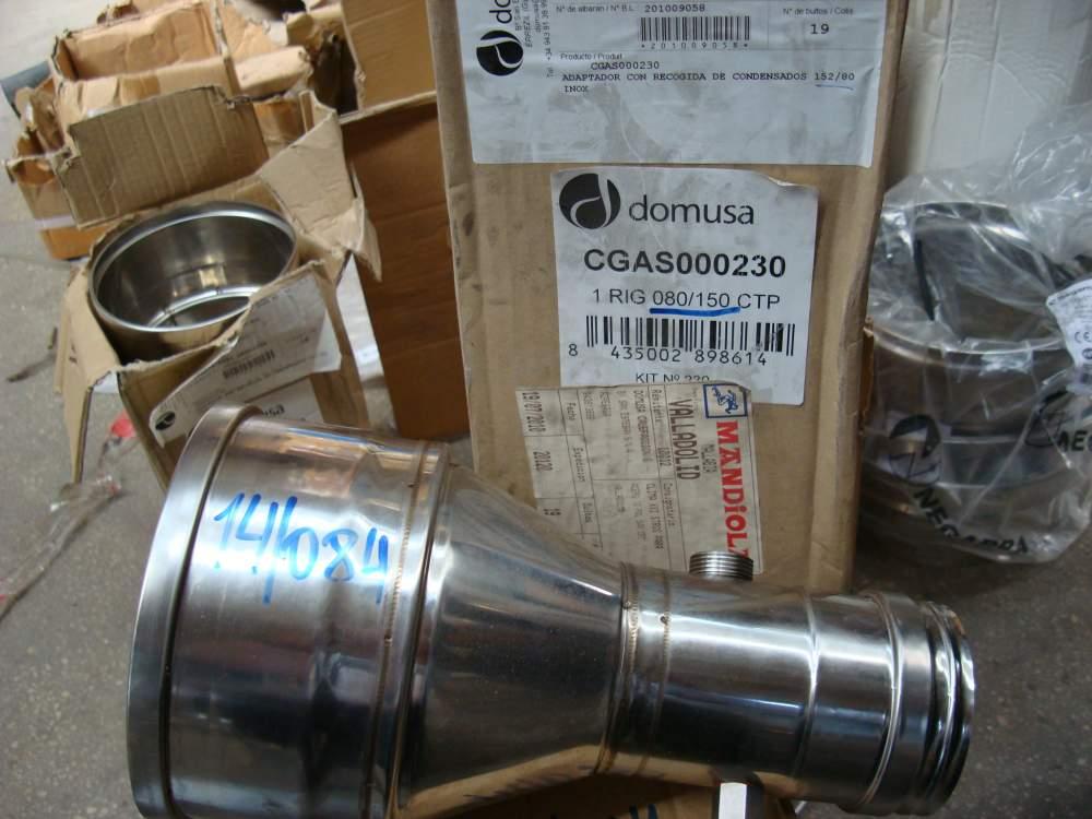 Адаптор с устройством для отвода конденсата Domusa