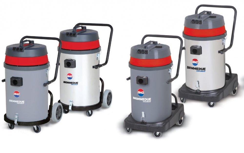 Профессиональные пылесосы для сухой и влажной уборки  Biemmedue SP&SM 80 В с опрокидывающимся корпусом (80л)