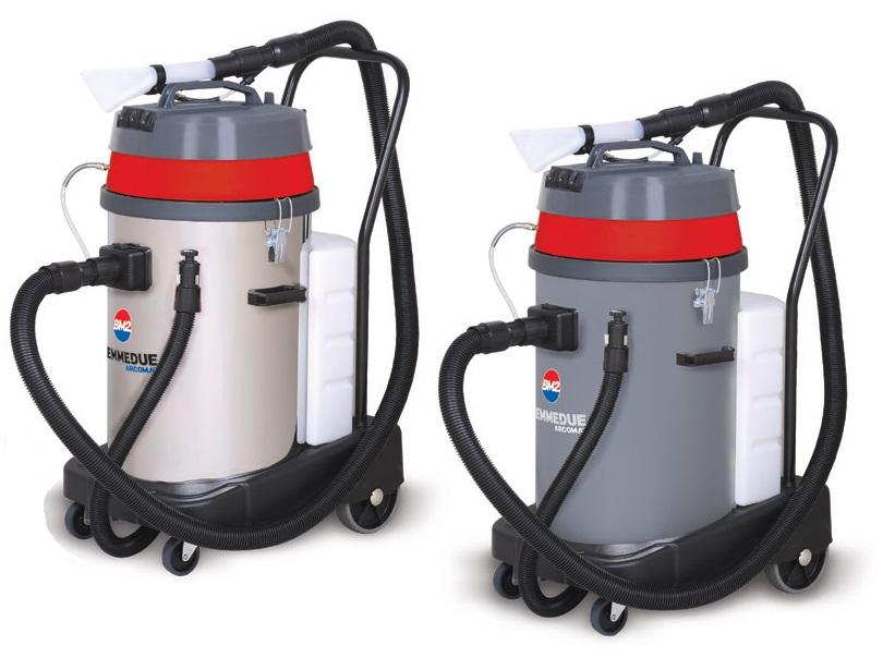 Профессиональный моющий пылесос экстрактор Biemmedue EX 80 с двумя турбинами (80 л)
