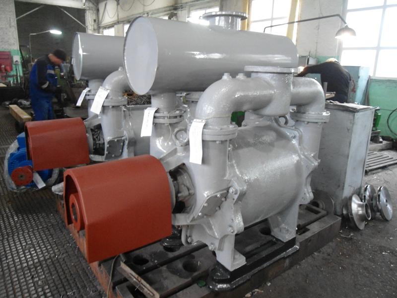 Насос вакуумный водокольцевый ВВН2-50М