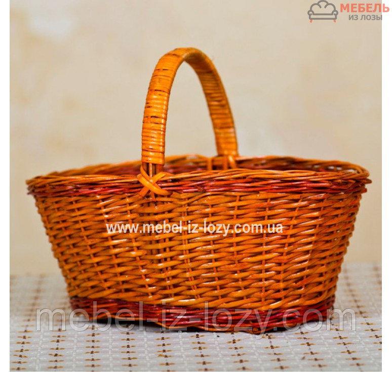 Купить Корзина плетеная для детей из лозы