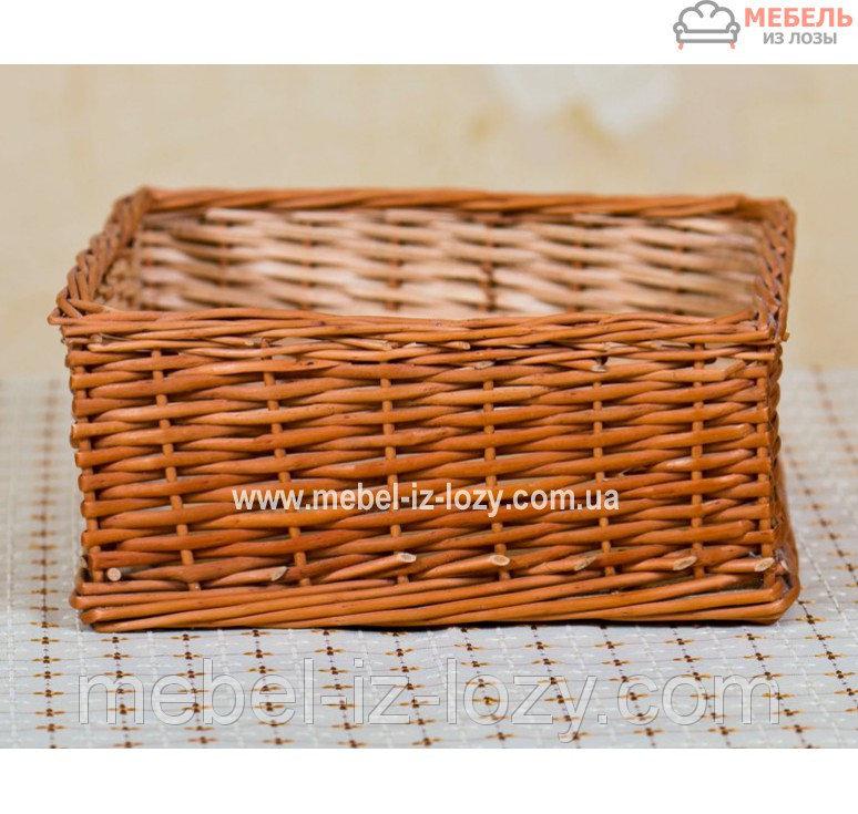 Купить Лоток плетеный h15- 30х30