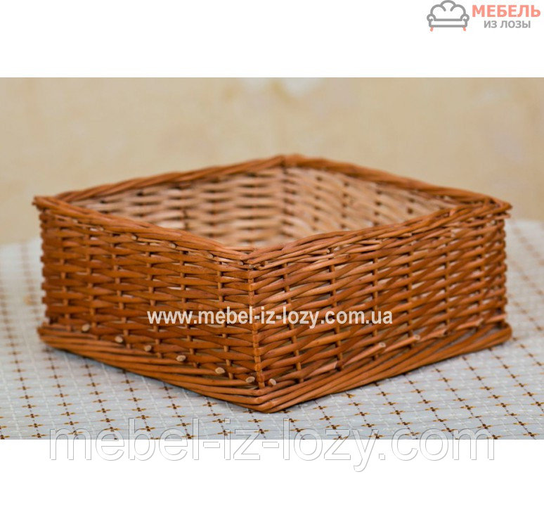 Купить Лоток плетеный h10-40х40