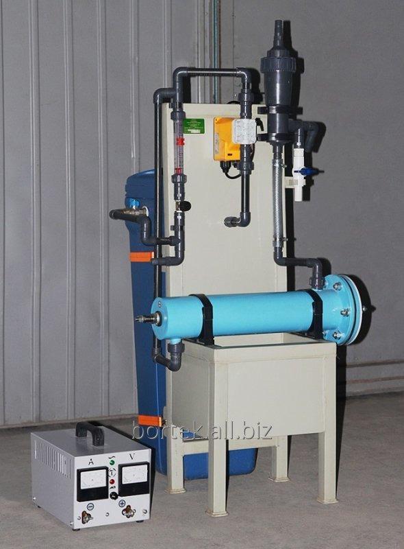 """Электролизная установка """"Пламя"""" на 2,5 кг для обеззараживания воды"""