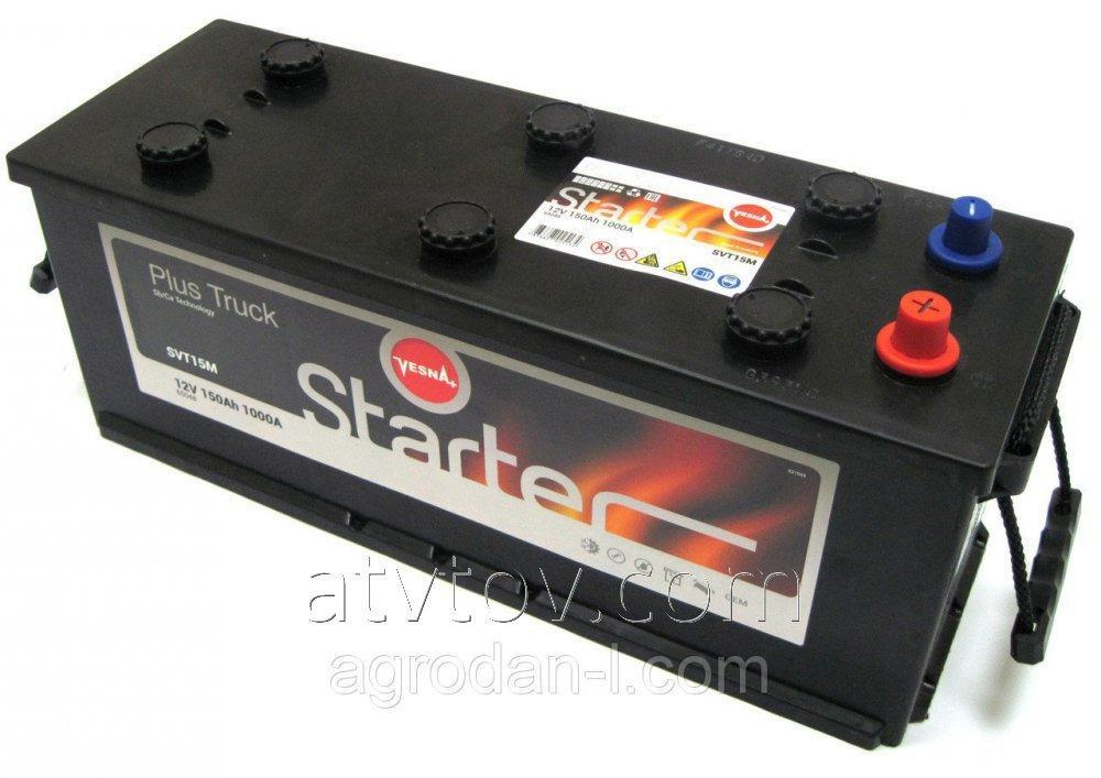 6СТ-150 STARTER VESNA+(L)