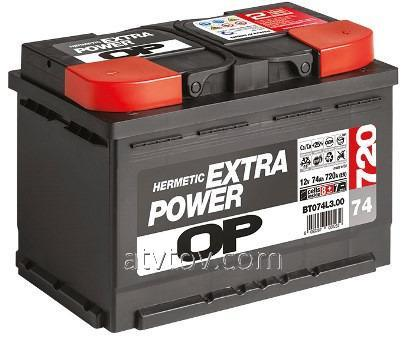 6СТ-60 Extra Power  (L+)