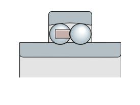 Подшипник двухрядный сферический с широким внутренним кольцом