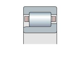 Подшипник роликовый радиальный однорядный типа NJ