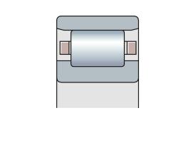 Подшипник роликовый радиальный однорядный типа N