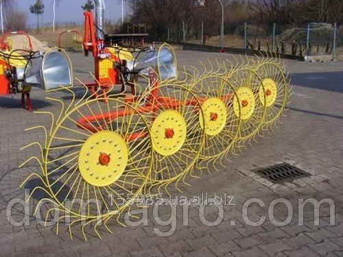 Грабли ворошилки Mokobody Z-510/1 (гребка 4 колеса)