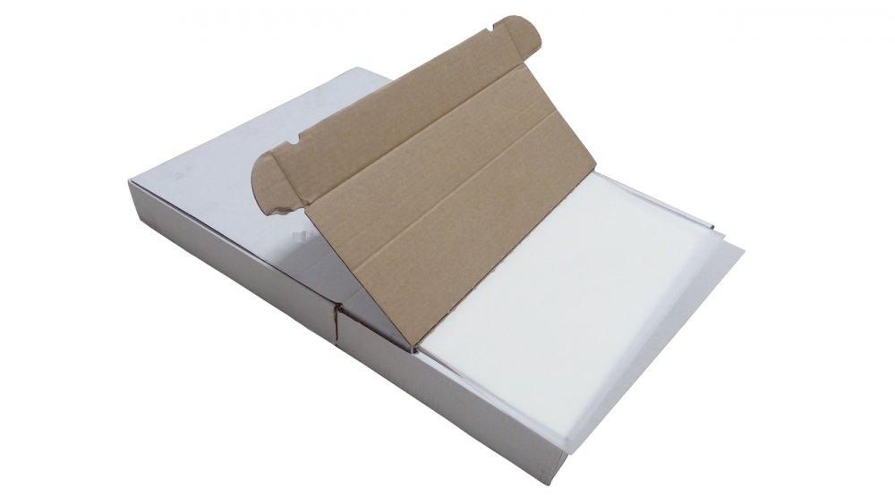 Бумага (пергамент) белая силиконизированная двухсторонняя