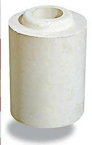 Купить Трубки алюмосиликатные огнеупорные и высокоогнеупорные для продувки стали в ковше инертными газами МКФ-74.