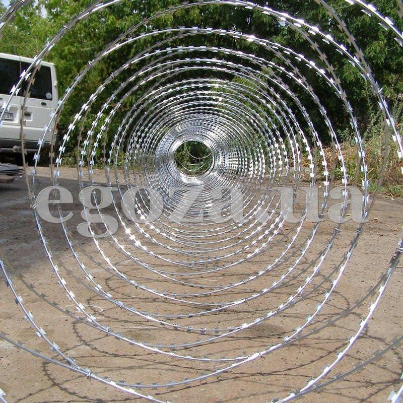 Егоза Стандарт 950/7 из колюче-режущей проволоки Егоза