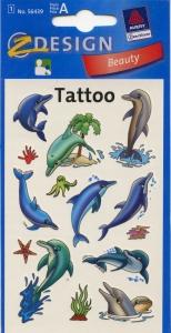 Татуировки с дельфинами, код AVR00008