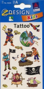 Татуировки с пиратами, код AVR00008