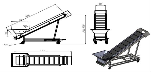 Наклонный конвейер цена швейные машины с верхним транспортером ткани