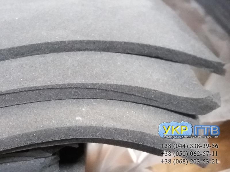 Резина микропористая, губчатая ТВИМ 6х500х700 мм Украина