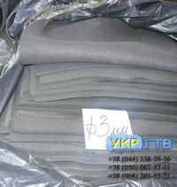 Резина микропористая, губчатая ТВИМ 25х500х700 мм Украина