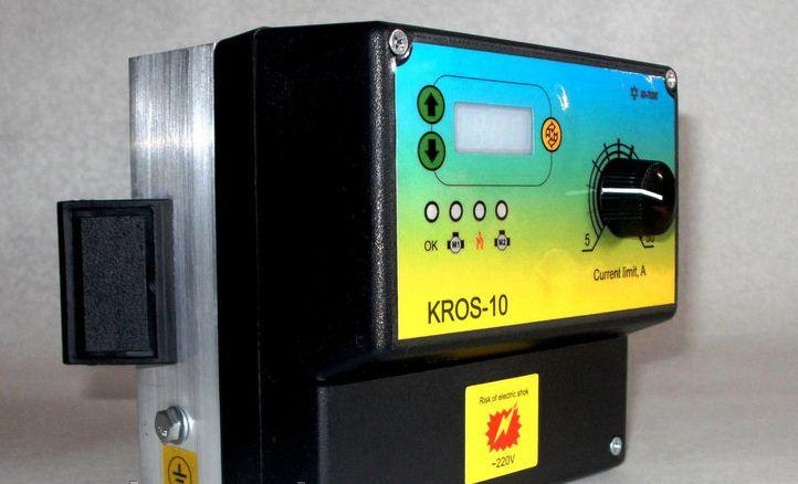 Купить Контроллер-регулятор отопительной системы Kros-10 для систем до 11 квт