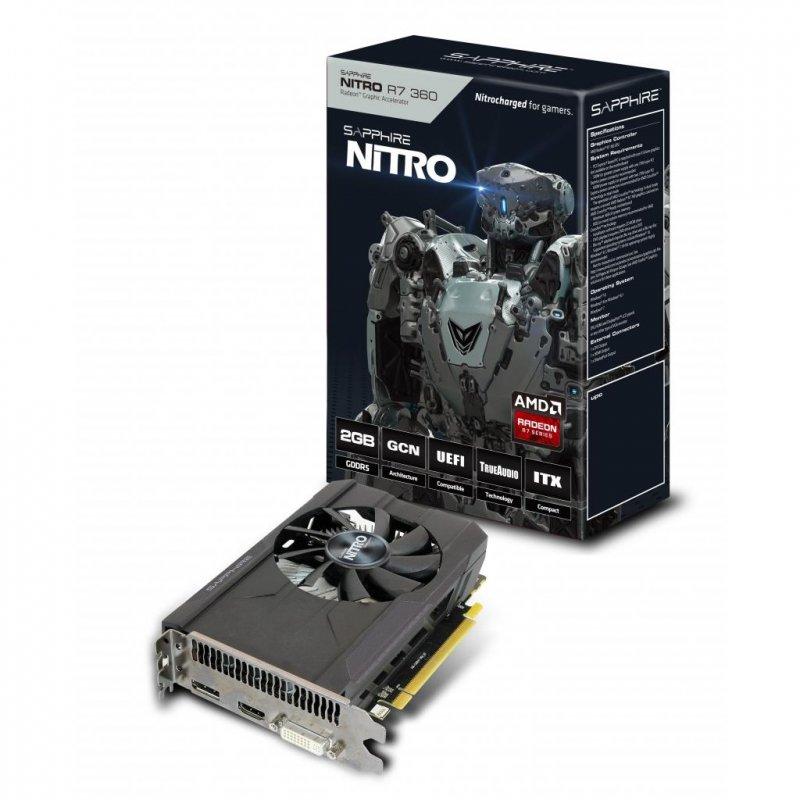 Купить Видеокарта Sapphire Radeon R7 360 2048Mb NITRO (11243-05-20G)