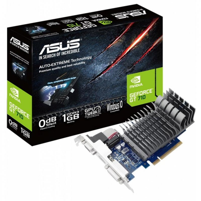 Купить Видеокарта GeForce GT710 2048Mb ASUS (710-2-SL-BRK)