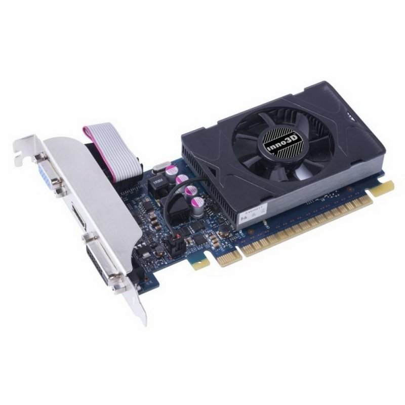 Купить Видеокарта Inno3D GeForce GT730 2048Mb LP (N730-3SDV-E5BX)