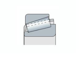 Подшипник конический однорядный с метрическим и дюймовым размером