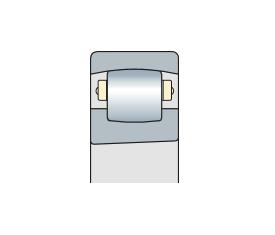 Подшипник сферический радиальный однорядный с коническим отверстием
