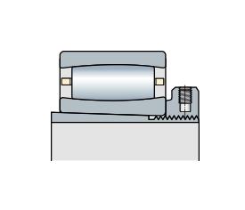 Подшипник торроидальный роликовый однорядный CARB с закрепляющей втулкой