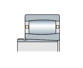 Подшипник торроидальный роликовый однорядный CARB с стяжной втулкой