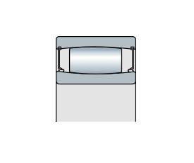 Подшипник торроидальный роликовый однорядный CARB с уплотнением