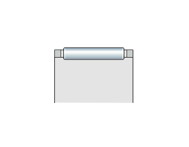 Подшипник игольчатый радиальный сепаратор с игольчатыми роликами