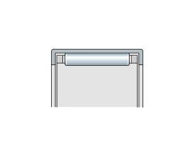 Подшипник игольчатый радиальный с сепаратором и штампованным наружным кольцом, метрический