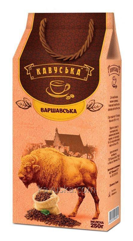 Öğütülmüş kahve Kavuska Varşova 250g