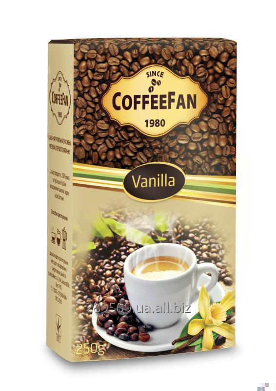 Купить Кофе молотый CoffeeFan Vanilia 250г